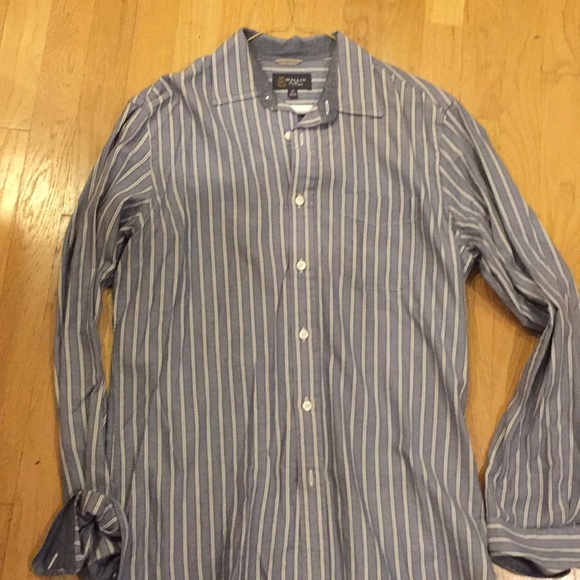 2c561950 Wallin & Bros Shirts | Long Sleeve Casual Button Down Blue With ...